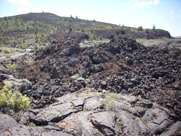 Aa lava at Craters of the           Moon, Idaho