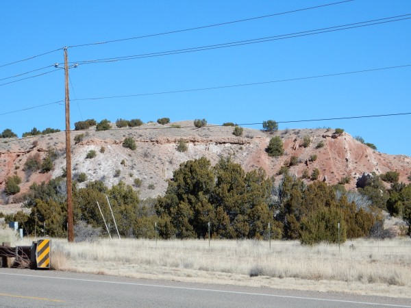 Ancha           Formation overlying Galisteo Formation