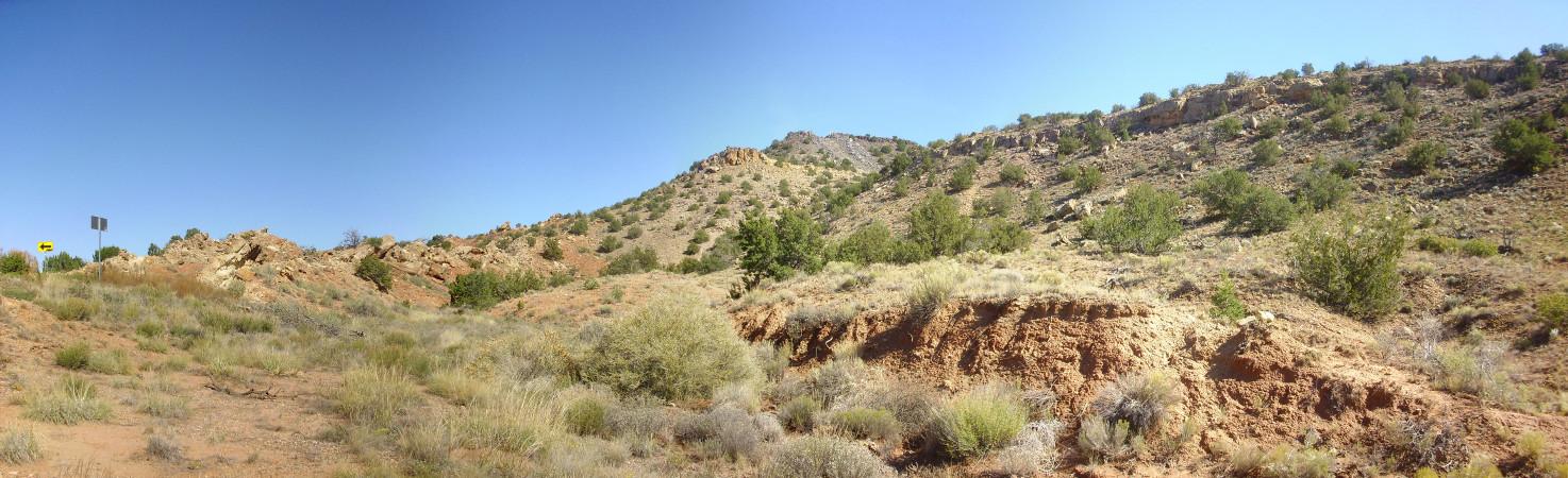 La Bajada fault strand