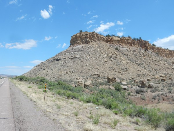 Cliff           House capping Menefee Formation