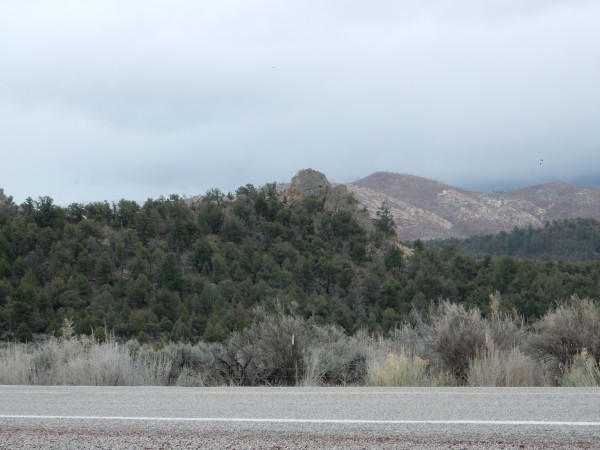 Ojo Alamo Formation in hogback