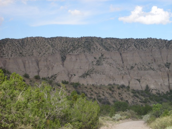 Cochiti           Formation overlying Peralta Tuff