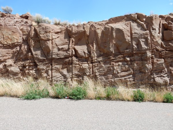 Crossbedding in Poleo Formation