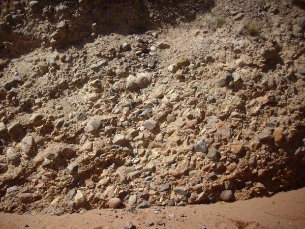 Ritito           Conglomerate along Red Wash Canyon