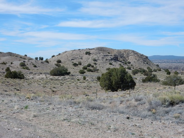 Gravel facies of Sierra Ladrones Formation