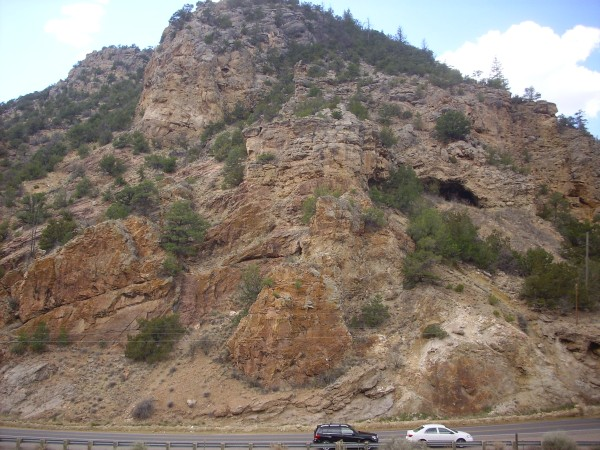 Great Unconformity           west of Soda Dam