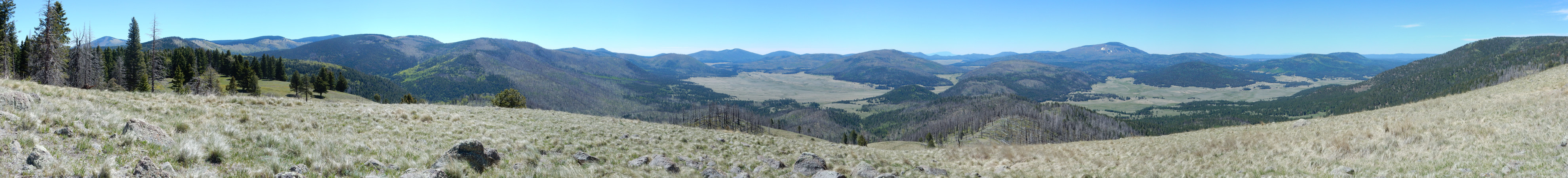 Valles Caldera north moat