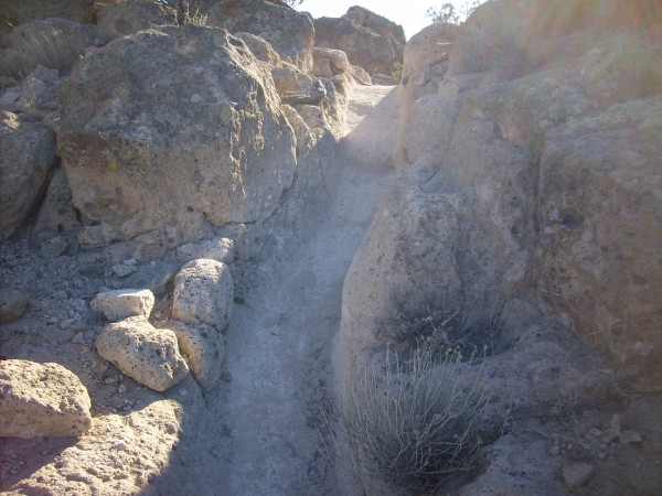 Kiatsukwa           exposures of El Cajete Pumice
